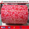 Bobina d'acciaio galvanizzata fiore PPGI di stampa