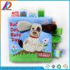 Pädagogisches Karikatur-Tierbaby-Tuch-weiche Bücher für Kinder