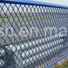 隔離の塀のための粉によって塗られる拡大された金属の網