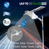 Réverbère extérieur solaire de DEL 100W avec le panneau solaire