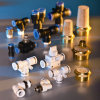 Bon Price Pneumatic Fitting Plastic et Brass Material