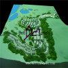 Архитектурноакустическая топографическая модель Models_Terrain маштаба (BM-0273)