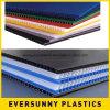 Цветастые листы пластмассы 4X8 Corrugated Coroplast