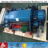 32 la tonne poutre de fil électrique chariot double palan à câble pour treuil