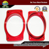 CNC Machining Aluminum Frame con Red Anodized
