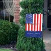 Оптовый дешевый декоративный флаг Поляк сада с стойкой металла