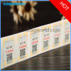 Etiqueta imprimible de la etiqueta de RFID NFC por una vez usada