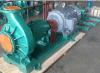 모형 No.: Ihf125-100-250 Ihf 단단 단 하나 흡입 불소 플라스틱 합금 화학 원심 펌프