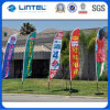 La piuma della visualizzazione di mostra di qualità inbandiera la bandierina palo poco costosa (LT-17C)