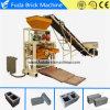 Semi-automatique machine à fabriquer des briques de ciment avec certificat CE