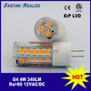 4 bulbo do diodo emissor de luz do watt 12VAC/VDC 4W G4 Bipin com Ce & RoHS