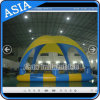 Familie verwendeter Intex aufblasbarer Swimmingpool; Aufblasbarer Swimmingpool mit Zelt