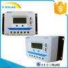 Contrôleur solaire d'affichage à cristaux liquides d'Epsolar 45A 12V/24V avec USB duel Vs4524au