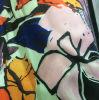 Alineada impresa poliester del otoño/del invierno, tela de la tela cruzada de la ropa de la chaqueta