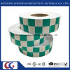 高輝度格子デザインはLatticの水晶フィルムとなされたPVC蛍光反射テープを印刷した