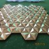 Estrella L mosaico (de oro aplicada con brocha finished)