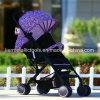 Foldable com o Pram Rotable do bebê das rodas