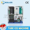 3 tonnes / jour pour machine à glace à tube comestible avec refroidissement par air TV30