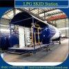 販売のための10 CBM GLP LPGの液体ガスのスキッド端末