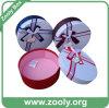 Rectángulo redondo decorativo del sombrero del papel de la cartulina con la tapa (ZH001)