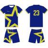 Concevoir le football en fonction du client de sublimation Jersey uniforme pour des enfants