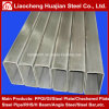 Heißes Verkaufs-Schwarz-rechteckiges Stahlgefäß, das nach Korea exportiert