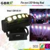 5 PCS LED 이동하는 맨 위 빛