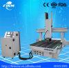 Máquina de grabado rotatoria de 4 ejes del ranurador del CNC de la carpintería de China