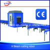 Automatischer CNC-Plasma-Flamme-Träger-Ausschnitt-fertig werdene Markierungs-Maschine für c-Kanal-Stahl