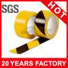 Желтая черная линия лента PVC предупреждающий (YST-FT-002)