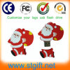 USB Stick del USB Flash Drive Cartoon Memory Disk della parte girevole 1GB del Babbo Natale