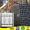 Carbon soldado Square Pipe para Fence