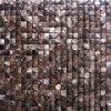 메시 (COFM-CO-SQ15)에 이음새가 없는 커피에 의하여 착색되는 볼록한 강 포탄 모자이크 타일