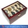 Caixa de relógio de couro personalizada alta qualidade de Fazer-em-China