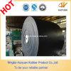 Correia transportadora de borracha resistente a calor EP800 / 4 em fábrica de cimento