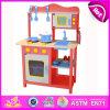 Cozinha de madeira nova do jogo 2014, cozinha popular do jogo do brinquedo dos cabritos, fábrica ajustada W10c045r da cozinha do jogo dos cabritos da venda crianças quentes
