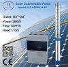 26kw centrífugo de acero inoxidable de 6 pulgadas de la bomba de agua solar