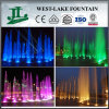 Lumière LED Fontaine musicale en plein air