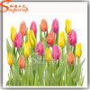Jardim Visão de seda artificial de decoração de flores de casamento por grosso Fake tulipas
