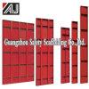 Cassaforma del calcestruzzo d'acciaio per il muro di cemento, il fascio, la colonna e la lastra, fornitore di Guangzhou