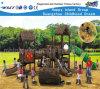 De houten OpenluchtSpeelplaats van Playsets van het Vermaak van de Eigenschap van het Dak (HF-10302)