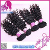 Stock Deep Curly Fast Shipping에서 Human Hair Extensions 인도 Virgin Human Hair Weaving 8-30를 가진 대중적인 Crochet Braids