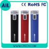 2015 nieuwe 2600mAh LED Lipstick Power Bank voor Promotion