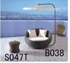 総合的な藤の家具(B038)