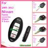 A chave remota para Nissan com 3 teclas 315MHz não contem microplaquetas