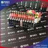 Crémaillère acrylique populaire spéciale de présentoir de rouge à lievres