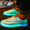 Fashion Men's outdoor Running Skateboard Leisure Shoes with LED Light