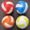 Bola suave del PVC de la dimensión de una variable de la bola del voleibol con el relleno del algodón de los PP