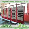 De LEIDENE van het benzinestation Digitale Vertoning van de Prijs