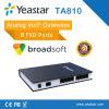 8 FXO Ports VoIP Analog FXO Gateway를 가진 Yeastar Neogate Ta810